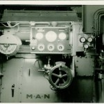 Fahrstand, Umsteuertechnik. (C) U.S.