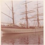 """Noch einmal das Schulschiff """"GORCH FOCK"""" , Kieler Bucht. (C) f.s."""