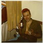 Es gab noch keine MPC´s, aber auf einem Kümo waren im Jahre 1969 Maschineneisätze nichts fremdes. Eine kleine Pause, ein Bier und weiter.  (Buchholz 1969 / 1970)