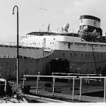 Es geht weiter, das Achterschiff der ELSA. Privataufnahmen