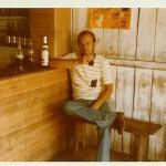 Die Einsamkeit eines freien Tages im Amazonasgebiet macht auch durstig. Übrigens, erstes Haus am Platz! (Marie Reith 1972)