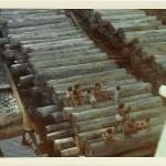 Im Moment der Aufnahme diente unsere Ladung den Eingeborenen Kindern noch als Sitzgelegenheit. (C) f.s.