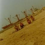 Einmal mehr Badetag in Cotonou