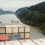 Immer noch Panama Kanal, aber fast geschafft.