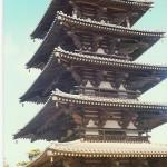 Ein Gebetstempel. Die Tempelstadt Nara besteht aus den ältesten Holzbauten der Welt.