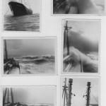 Nordatlantik 1955. Eine schlecht Wetter Serie aufgenommen von Detlef K.
